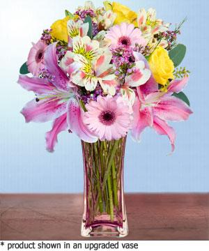 Anneme hediye karisik cam mevsim demeti  Aydın incir çiçek internetten çiçek siparişi