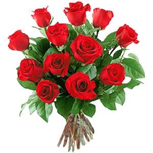 11 adet bakara kirmizi gül buketi  Aydın incir çiçek güvenli kaliteli hızlı çiçek