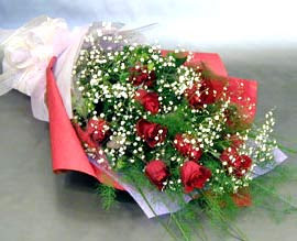 10 adet kirmizi gül çiçegi gönder  Aydın incir çiçek anneler günü çiçek yolla