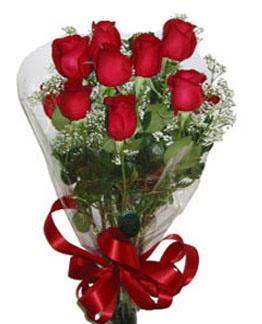 Çiçek sade gül buketi 7 güllü buket  Aydın incir çiçek online çiçek gönderme sipariş