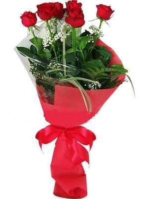 7 adet kirmizi gül buketi  Aydın incir çiçek çiçek yolla , çiçek gönder , çiçekçi