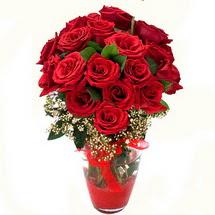 Aydın incir çiçek çiçek siparişi sitesi   9 adet kirmizi gül