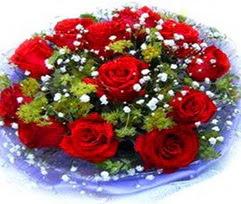 9 adet kirmizi güllerden buket  Aydın incir çiçek çiçekçi telefonları