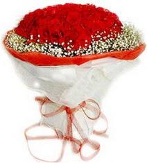Aydın incir çiçek çiçekçiler  41 adet kirmizi gül buketi