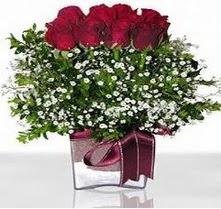 Aydın incir çiçek internetten çiçek satışı  mika yada cam vazo içerisinde 7 adet gül