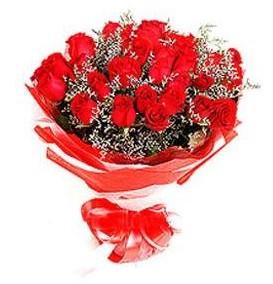 Aydın incir çiçek çiçek mağazası , çiçekçi adresleri  12 adet kırmızı güllerden görsel buket