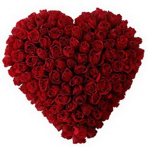 Aydın incir çiçek çiçekçi mağazası  muhteşem kırmızı güllerden kalp çiçeği