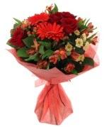 karışık mevsim buketi  Aydın incir çiçek internetten çiçek siparişi
