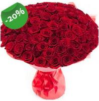Özel mi Özel buket 101 adet kırmızı gül  Aydın incir çiçek anneler günü çiçek yolla