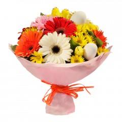 Karışık mevsim buketi Mevsimsel çiçek  Aydın incir çiçek internetten çiçek siparişi
