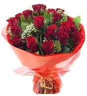 12 adet görsel bir buket tanzimi  Aydın incir çiçek çiçek siparişi vermek