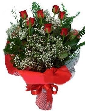 7 kırmızı gül buketi  Aydın incir çiçek çiçek servisi , çiçekçi adresleri