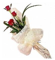 3 adet kırmızı gül buketi  Aydın incir çiçek güvenli kaliteli hızlı çiçek