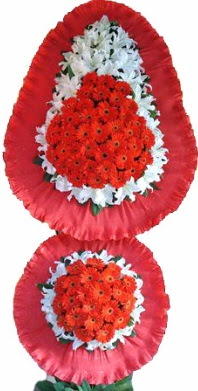 Aydın incir çiçek online çiçek gönderme sipariş  Çift katlı kaliteli düğün açılış sepeti