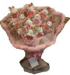 12 adet tavşan buketi  Aydın incir çiçek çiçek mağazası , çiçekçi adresleri
