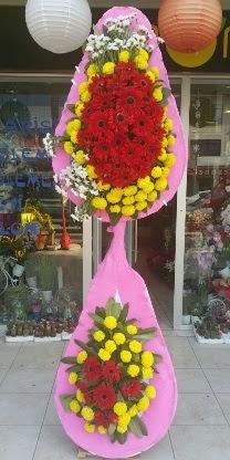 Çift katlı düğün nikah açılış çiçek modeli  Aydın incir çiçek çiçekçiler