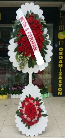 Çift katlı düğün nikah çiçeği modeli  Aydın incir çiçek çiçek siparişi sitesi