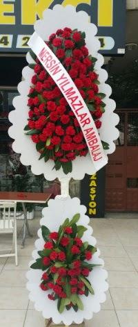 Çift katlı düğün nikah çiçeği modeli  Aydın incir çiçek hediye çiçek yolla