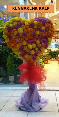 Ankara mevsim çiçeklerinden kalp perförje  Aydın incir çiçek çiçekçi telefonları