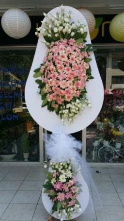 Çift katlı özel şahane sepet çiçeği  Aydın incir çiçek çiçekçi telefonları