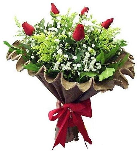 5 adet gülden buket  Aydın incir çiçek çiçek gönderme sitemiz güvenlidir