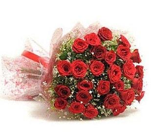 27 Adet kırmızı gül buketi  Aydın incir çiçek ucuz çiçek gönder