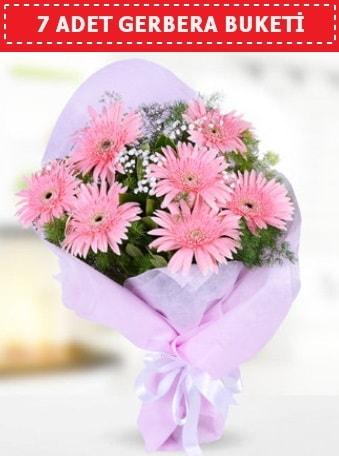 Pembe Gerbera Buketi  Aydın incir çiçek çiçek , çiçekçi , çiçekçilik