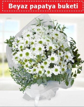 Beyaz Papatya Buketi  Aydın incir çiçek 14 şubat sevgililer günü çiçek